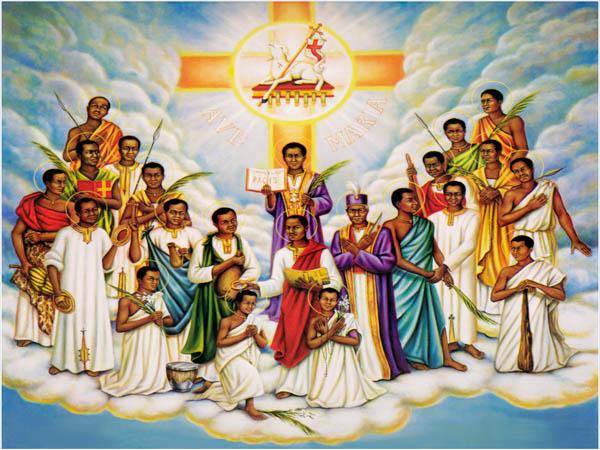 Danh sách Các Thánh Tử Đạo Việt Nam xếp theo ngày lễ