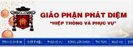 Giới thiệu website giáo phận Phát Diệm