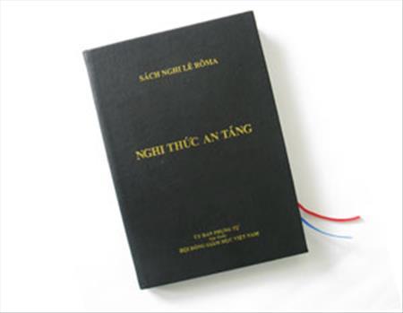Thông cáo của Uỷ ban Phụng tự về việc phát hành sách Nghi thức An táng