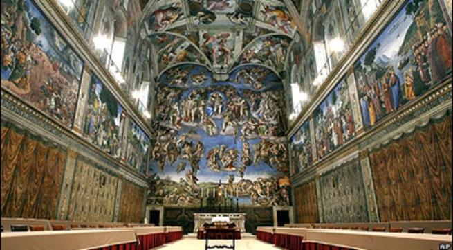Mật viện trong sắc màu Sistine