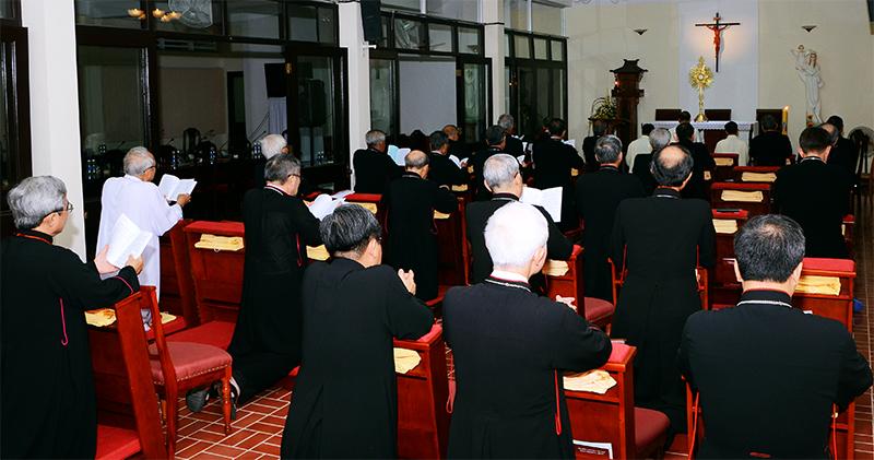 Hội đồng Giám mục Việt Nam: Khai mạc Hội nghị thường niên kỳ I/2019 tại Bãi Dâu