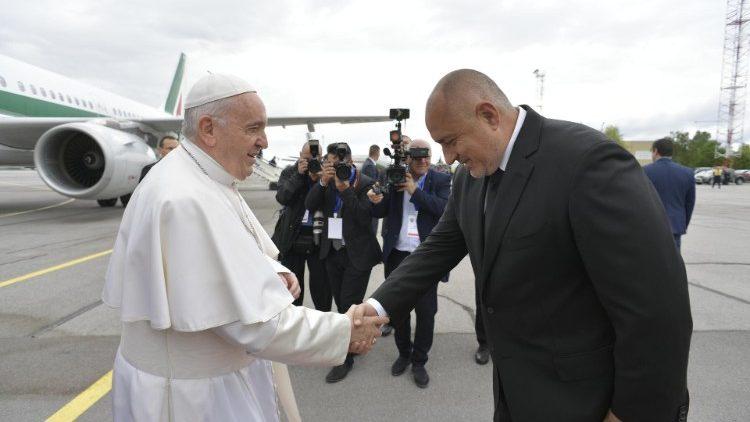 ĐTC Phanxicô đã đến Bulgari