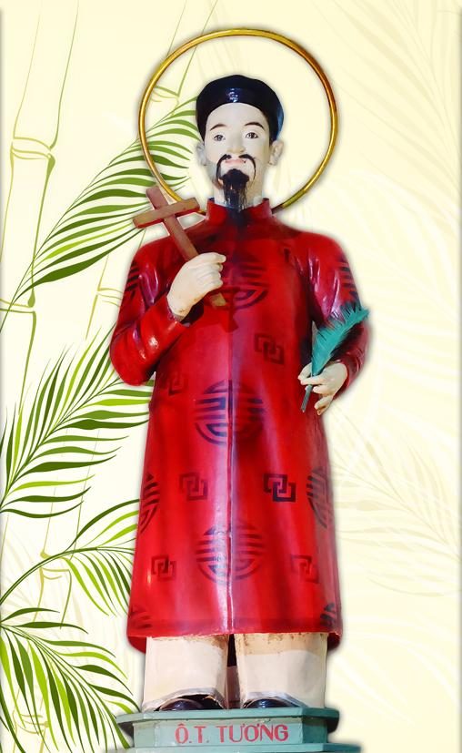 Hạnh Thánh Anrê Nguyễn Mạnh Tường, tử đạo ngày 16/06/1862