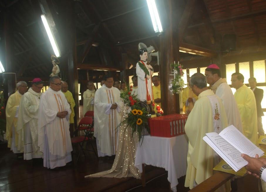 Thánh lễ Tạ ơn – Mừng Kim Khánh Chủng viện Thánh Phaolô Lê Bảo Tịnh Ban Mê Thuột