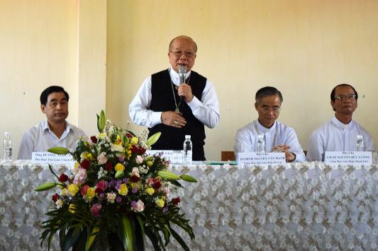 Công bố thiết lập cơ sở II ĐCV Thánh Giuse Xuân Lộc tại ĐCV Minh Hòa, 12-5-2018