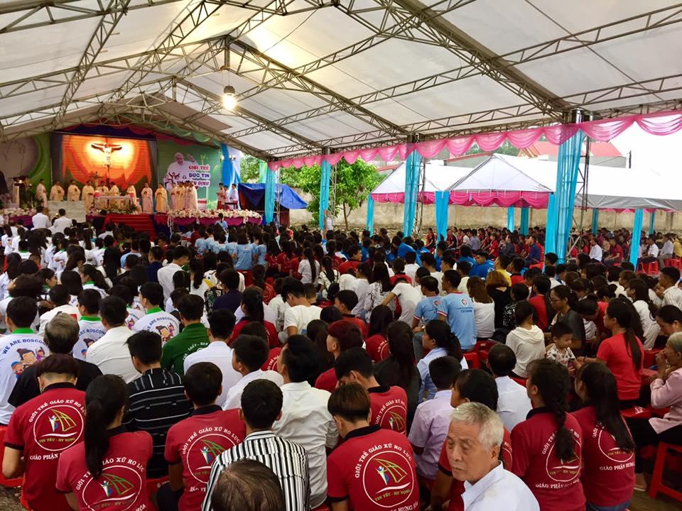 Đại hội Giới trẻ Saledieng Don Bosco miền Bắc