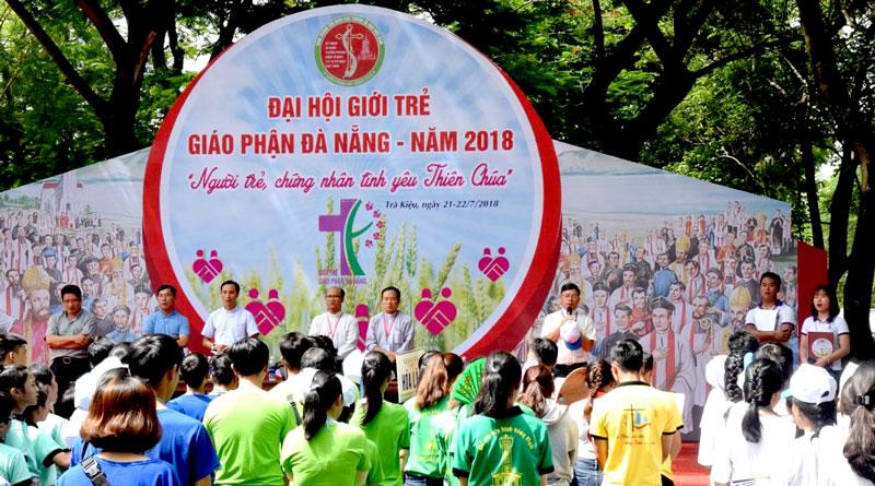 Đại hội Giới trẻ Giáo phận Đà Nẵng Tại Trà Kiệu vào hai ngày 21 và 22/7/2018