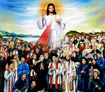 Anh em làm chứng cho Thầy (24.11.2020 – Thứ Ba - Các Thánh Tử Đạo Việt Nam)