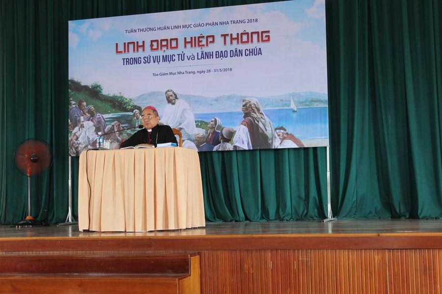 Thường huấn Linh mục tại Giáo phận Nha Trang  (28-31/05/2018)