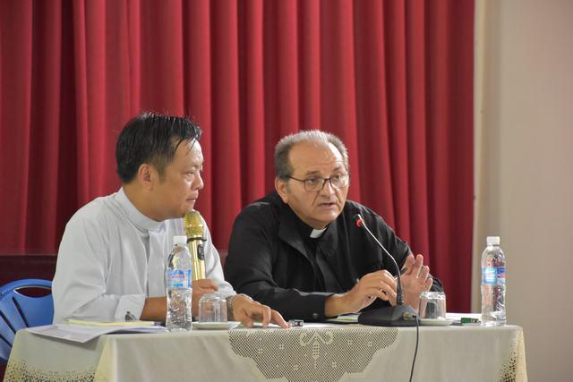 Chuyến thăm viếng của cha Fabrizio Meroni, Tổng Thư ký Liên hiệp Giáo hoàng truyền giáo