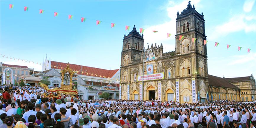Giáo phận Bùi Chu khai mạc lễ thánh Đaminh