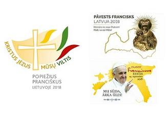 Chương trình viếng thăm của Đức Thánh Cha Phanxicô tại ba quốc gia vùng Baltic từ ngày 22-25/09