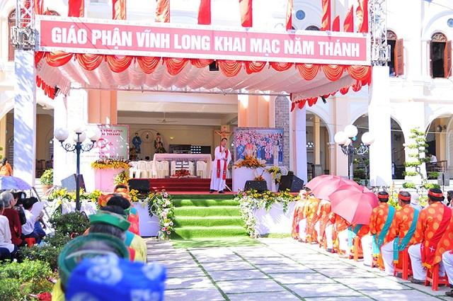 GP. Vĩnh Long: Khai mạc Năm Thánh kính các Thánh Tử Đạo Việt Nam