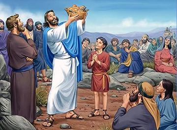 Ngài cầm bánh bẻ ra - (23.6.2019 Chúa Nhật 22 TN - Lễ Mình và Máu Thánh Chúa Kitô)