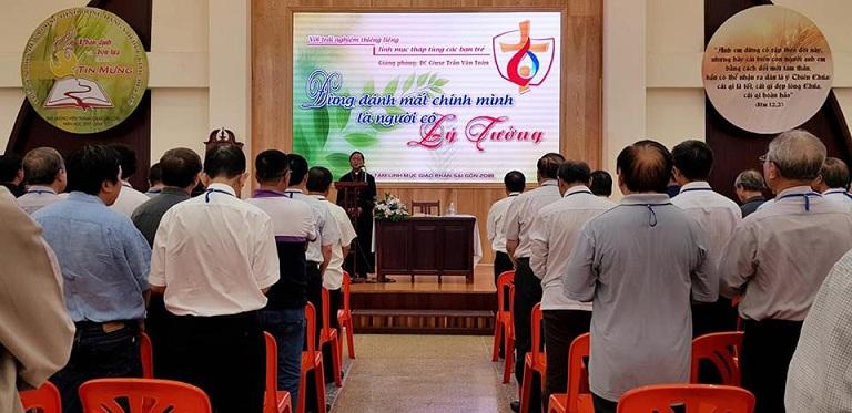 Linh mục đoàn Sài Gòn với Tuần tĩnh tâm thường niên 2018