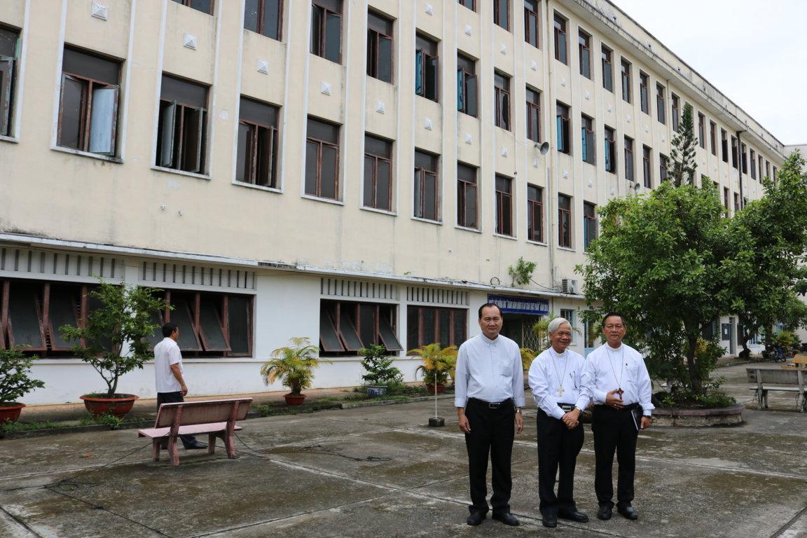 Ký kết giao lại Đại chủng viện Thánh Tôma (cũ)