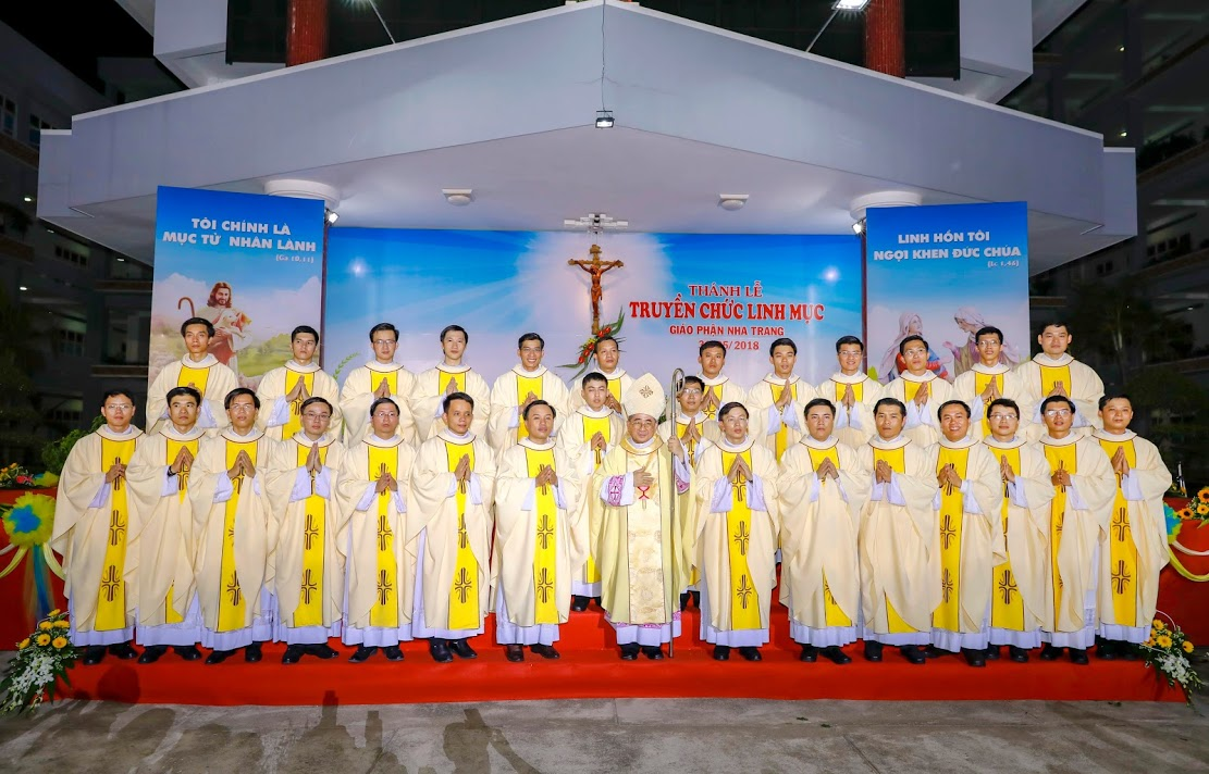 Giáo phận Nha Trang: Thánh lễ Truyền chức Linh mục 2018