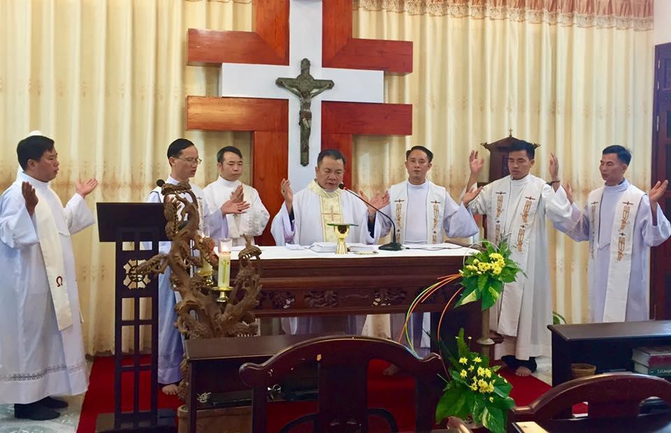 Thánh lễ mừng kính Thánh Gioan Maria Vianey và kỷ niệm 12 năm Giám mục của Đức cha Giuse