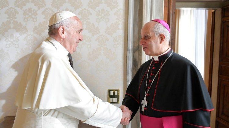 """Đức Tổng giám mục Fisichella: """"Án tử hình đi ngược lại phẩm giá con người"""""""