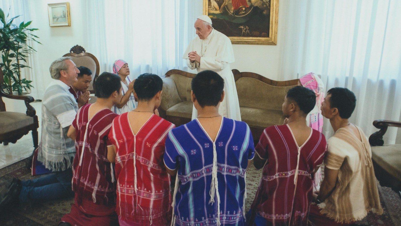 Sứ điệp video Đức Thánh Cha gửi nhân dân Thái Lan