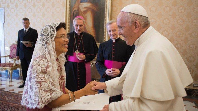 Tân Đại sứ Philippines tại Tòa Thánh