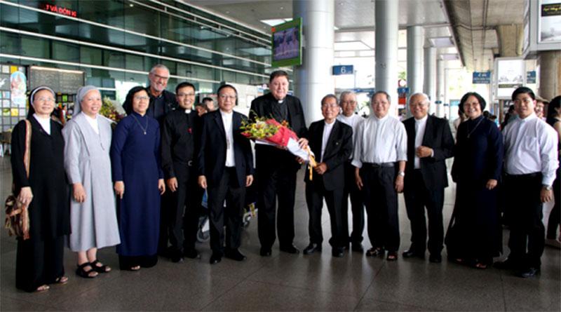 Đức hồng y João Braz de Aviz, Tổng trưởng Bộ Đời sống thánh hiến và các Tu đoàn tông đồ, thăm Giáo Hội Việt Nam