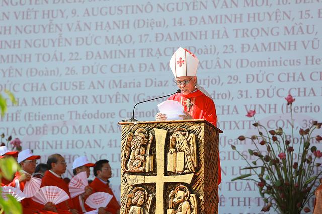 Toàn văn Bài giảng của Đức Cha Cosma Hoàng Văn Đạt tại Sở Kiện