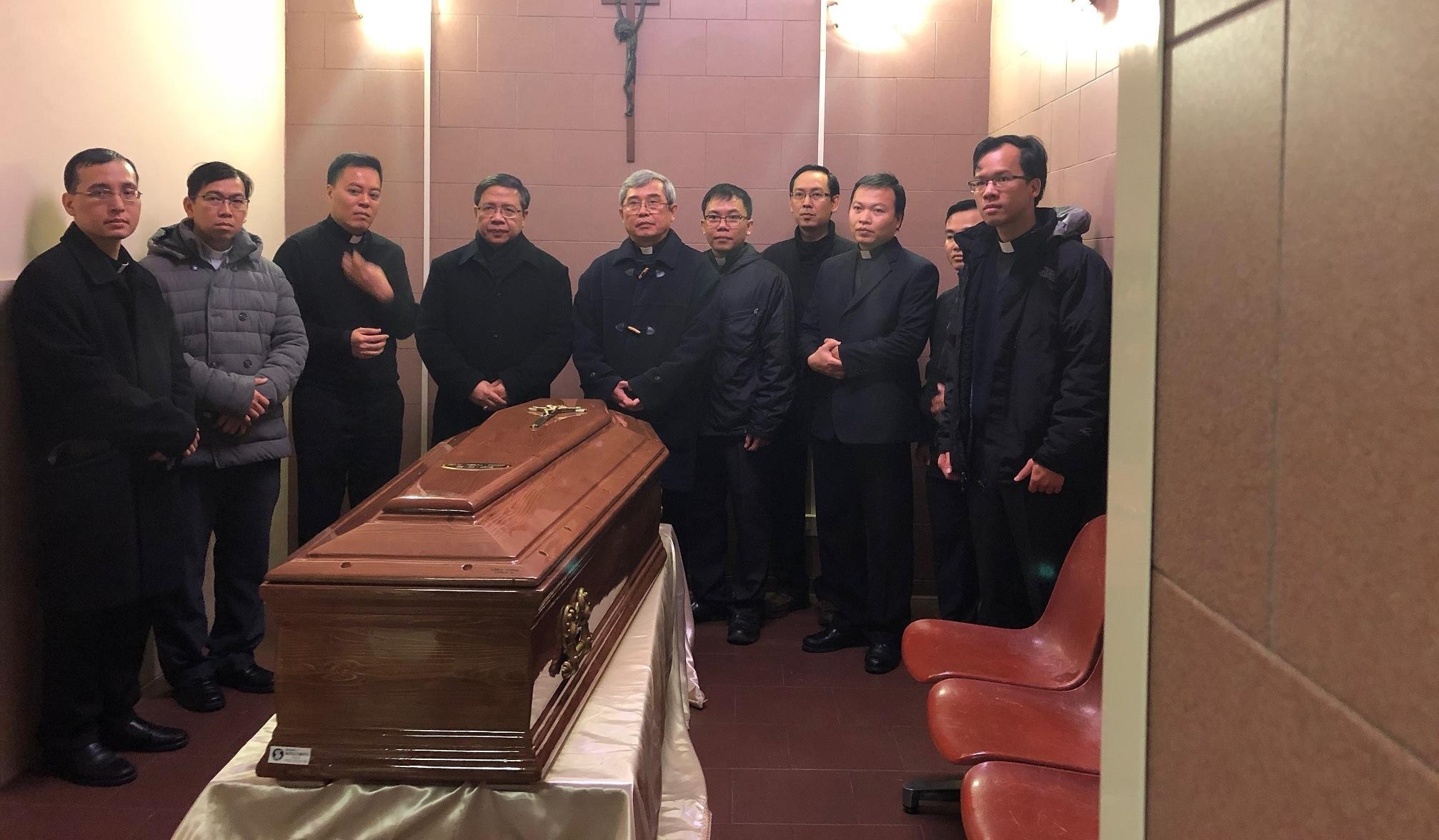 Thông báo: Linh cữu Đức Tổng về Sài Gòn vào tối thứ Năm 15/03/2018