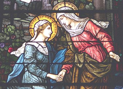 Maria ở lại độ ba tháng (31.5.2021 – Thứ Hai Tuần 9 TN: Đức Maria thăm viếng bà Êlisabeth)