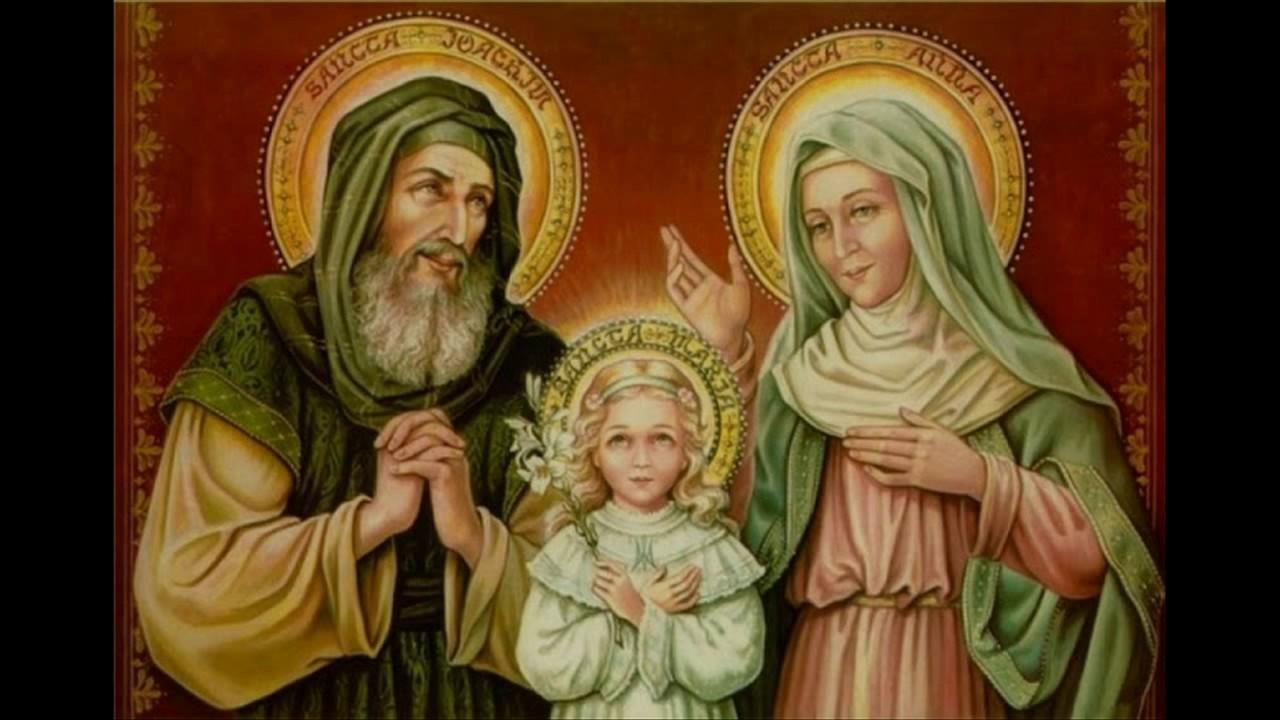 Ngày 26/07 - Thánh Gioakim và thánh Anna