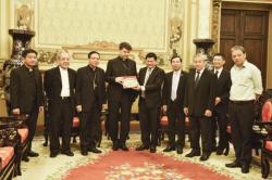 ĐTGM Marek Zalewski thăm Ủy ban Nhân dân TP. Hồ Chí Minh
