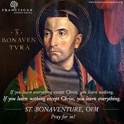 Ngày 15/7: Thánh Bônaventura, Giám mục Tiến sĩ Hội thánh (1221-1274)