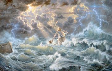 Núi, nước, gió và sóng (09.8.2020 – Chúa Nhật 19 Thường niên, Năm A)