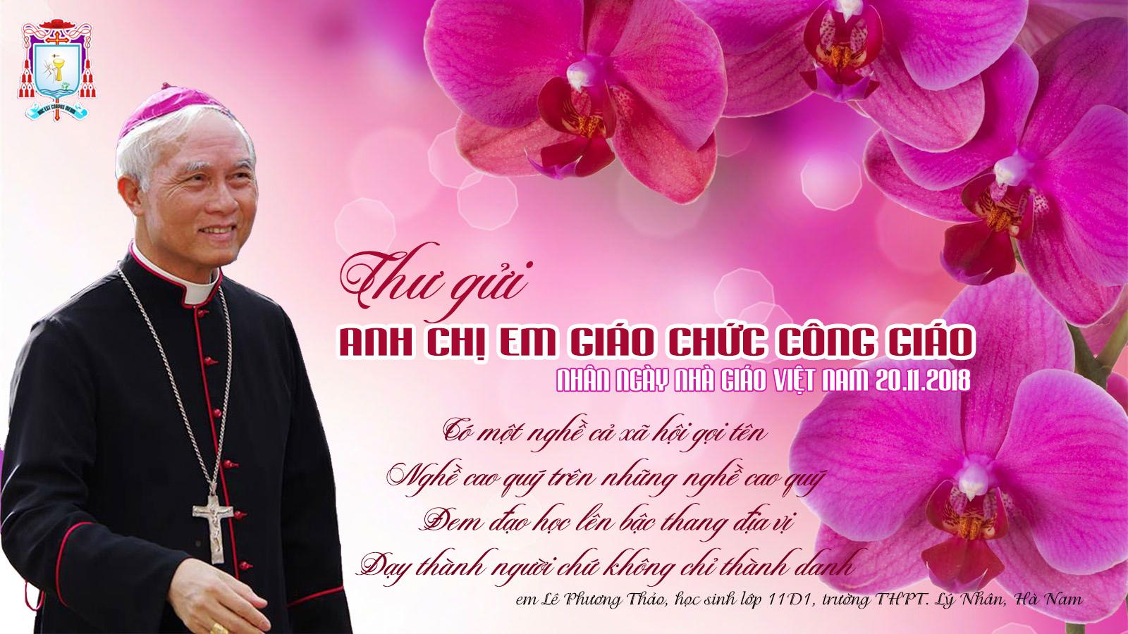 Ủy ban Giáo dục gửi thư nhân ngày Nhà giáo Việt Nam 20/11/2018