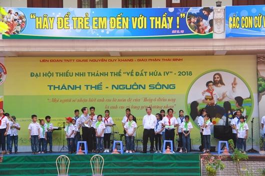 Đại hội Thiếu nhi Thánh Thể Giáo phận Thái Bình năm 2018