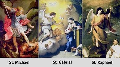 Các thiên thần của Thiên Chúa (29.9.2020 - Các Tổng lãnh Thiên thần Michael, Gabriel, Raphael)