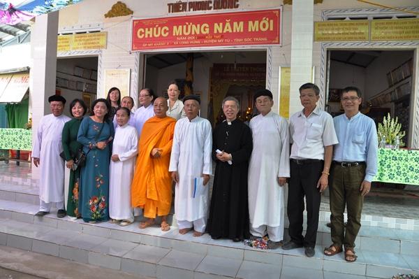 Chung vui với Họ đạo Quang Minh Đài - tỉnh Sóc Trăng