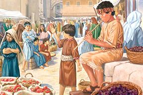 Lũ trẻ ngồi ngoài chợ (16.9.2020 – Thứ Tư Tuần 24 Thường niên)