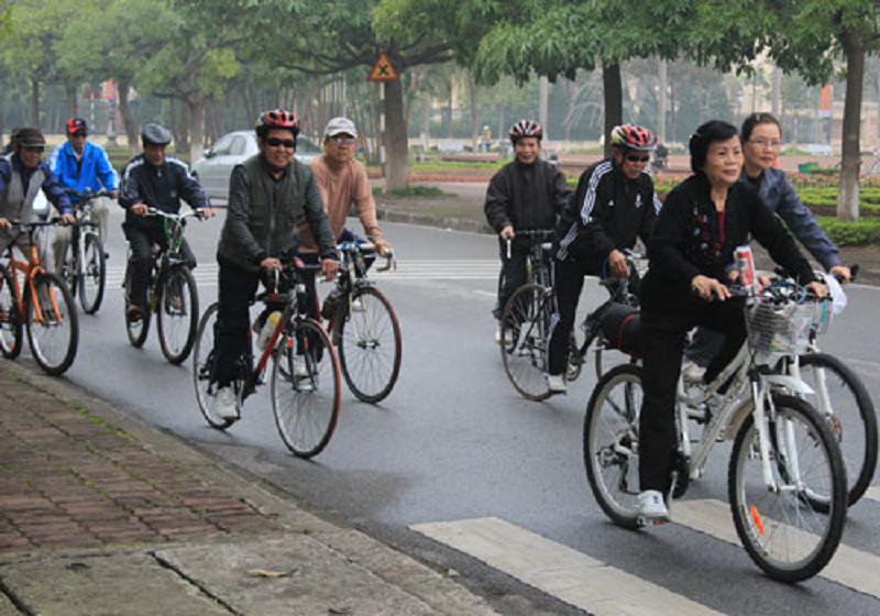 Caritas Việt Nam: Đi xe đạp vì môi trường