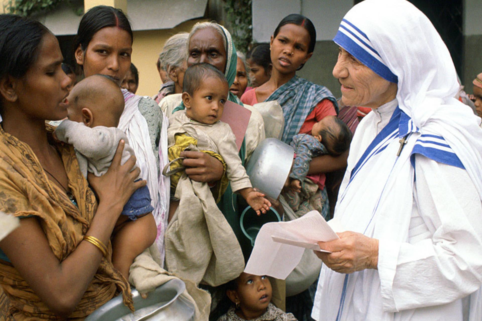 Kết quả hình ảnh cho mother teresa work in india