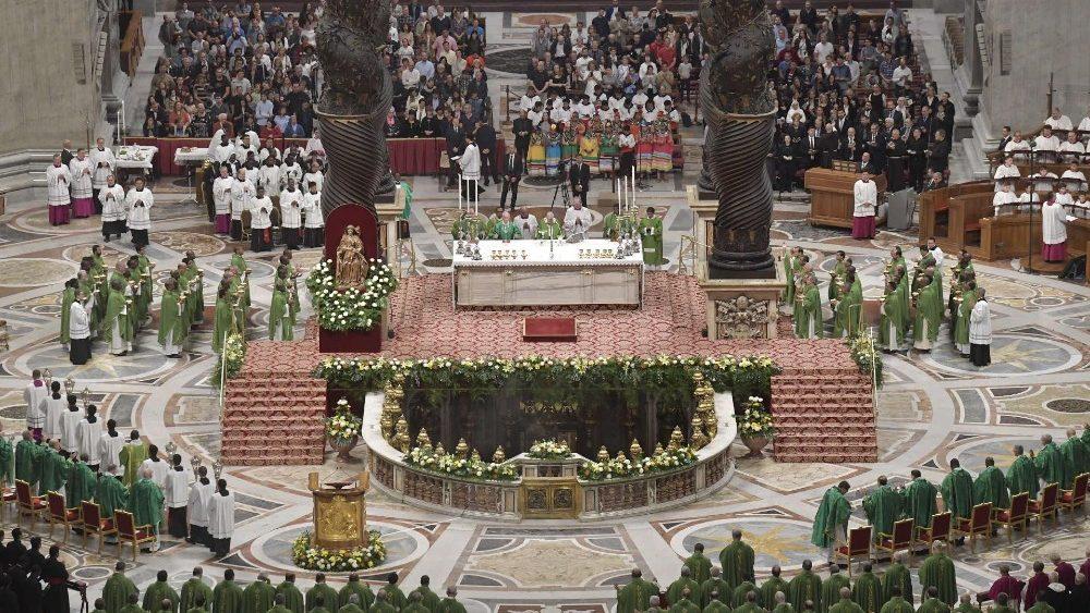 Đức Thánh Cha cử hành Thánh Lễ Ngày Thế Giới Truyền Giáo 2019