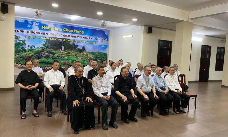 Hội đồng Giám mục khai mạc Hội nghị thường niên lần I/2021