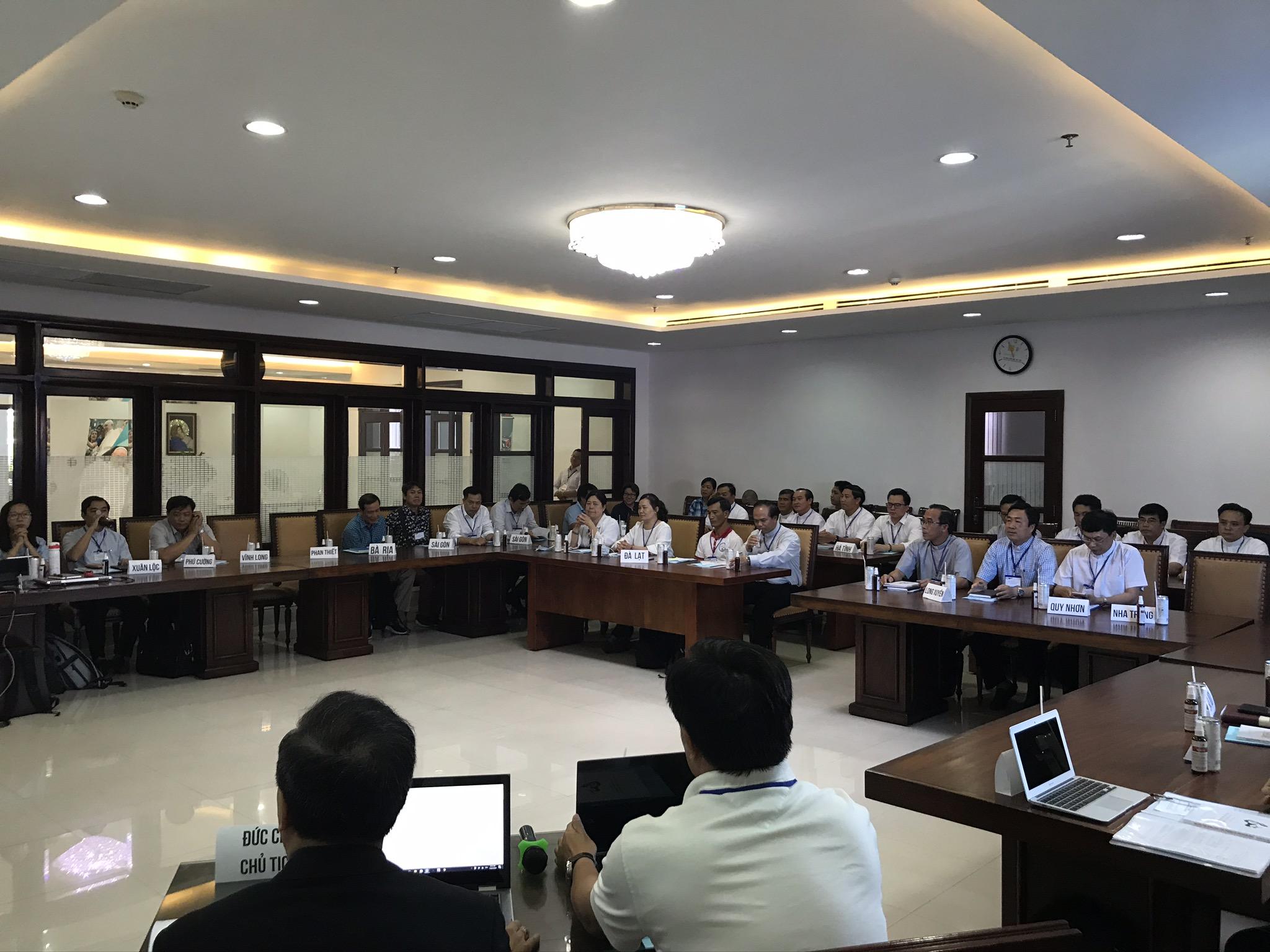 Ủy Ban Mục Vụ Giới Trẻ và Thiếu Nhi họp mặt 2020